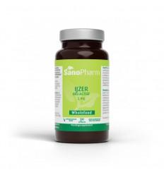 Sanopharm IJzer 5 mg wholefood 30 capsules | € 13.89 | Superfoodstore.nl