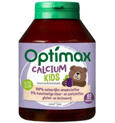 Optimax kinder calcium | € 10.43 | Superfoodstore.nl