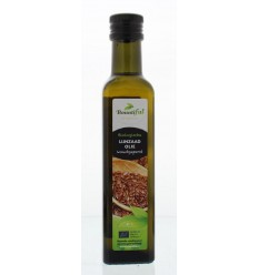Bountiful Lijnzaadolie bio 250 ml | € 2.66 | Superfoodstore.nl
