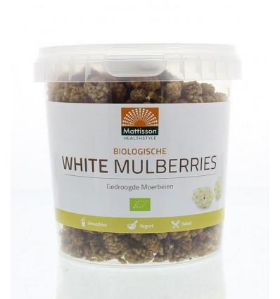 Mattisson Absolute white mulberries raw bio 300 gram | € 5.44 | Superfoodstore.nl