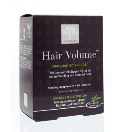 New Nordic Hair volume 90 tabletten | € 61.45 | Superfoodstore.nl