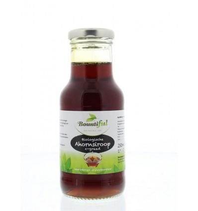 Bountiful Ahornsiroop 250 ml | € 5.36 | Superfoodstore.nl