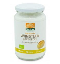 Mattisson Wijnsteen bakpoeder bio 180 gram | € 3.55 | Superfoodstore.nl