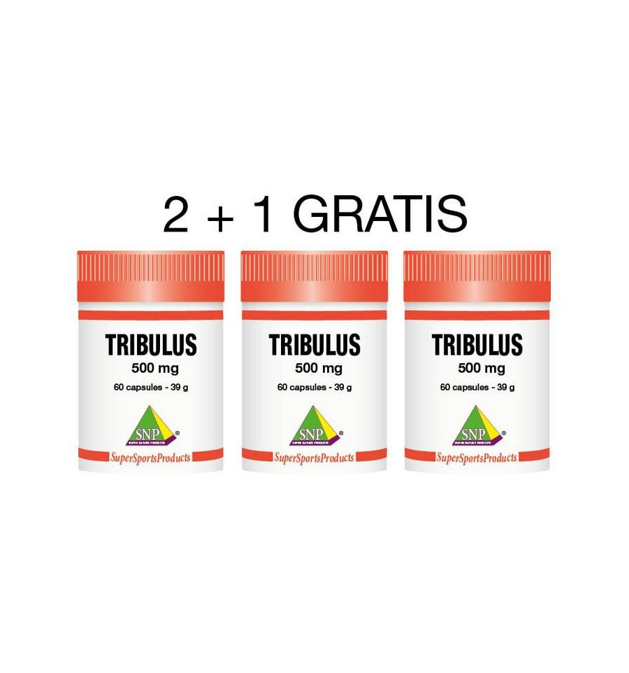 SNP Tribulus 500 mg 2+1 gratis 180 capsules