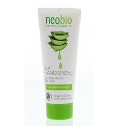 Neobio Handcreme soft 75 ml | € 2.93 | Superfoodstore.nl
