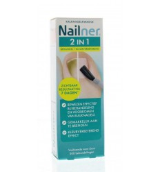 Nailner 2 in 1 brush 5 ml | € 24.38 | Superfoodstore.nl