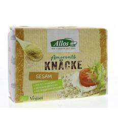 Allos Knackebrod sesam-amarant 250 gram | € 2.50 | Superfoodstore.nl