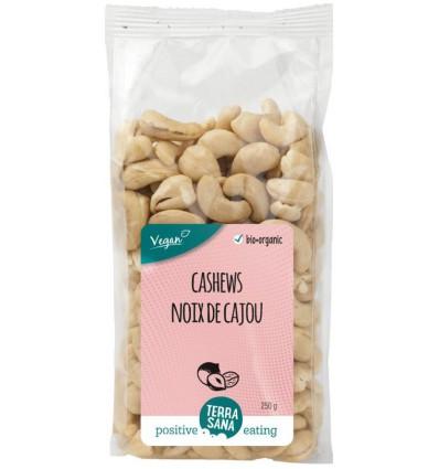 Terrasana Cashewnoten ongeroosterd zonder zout 250 gram kopen