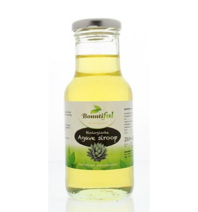 Bountiful Agavesiroop 250 ml | € 3.43 | Superfoodstore.nl