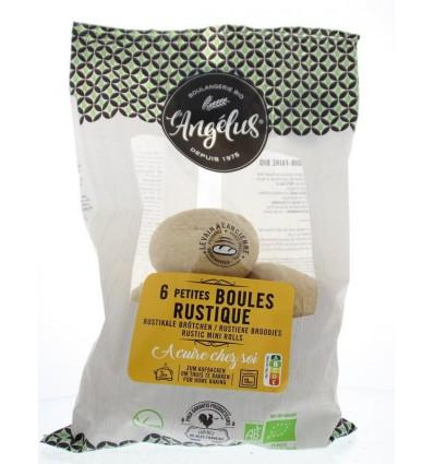 L'Angelus Mini boules rustique 6 stuks | € 2.78 | Superfoodstore.nl
