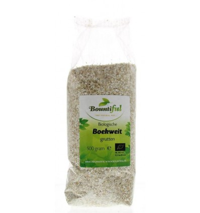 Bountiful Boekweitgrutten bio 500 gram | € 2.79 | Superfoodstore.nl