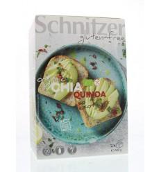 Schnitzer Brood chia & quinoa 500 gram | € 4.79 | Superfoodstore.nl