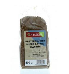 Hygiena Basterdsuiker donker 500 gram | € 1.91 | Superfoodstore.nl