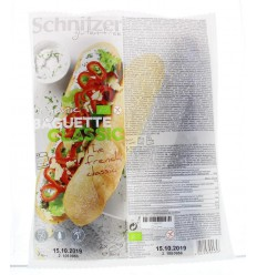 Schnitzer Baguette classic 360 gram | € 3.84 | Superfoodstore.nl