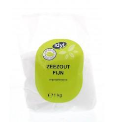Idyl Zeezout fijn 1 kg | € 1.31 | Superfoodstore.nl