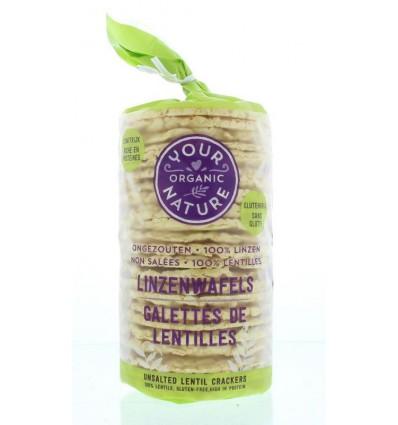 Your Organic Nature Linzenwafels 100 gram   € 2.57   Superfoodstore.nl