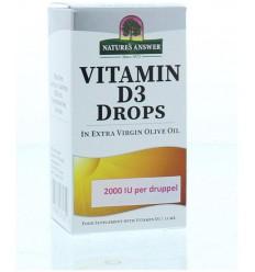 Natures Answer Vitamine D3 2000 IU 50 mcg per druppel 15 ml | € 20.84 | Superfoodstore.nl