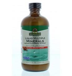 Natures Answer Vloeibaar mineralen - Liquid multiple minerals 240 ml | € 22.44 | Superfoodstore.nl