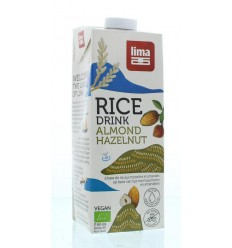 Lima Rice drink hazelnoot amandel 1 liter | € 3.02 | Superfoodstore.nl