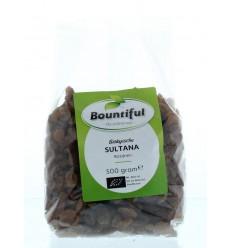 Bountiful Sultana rozijnen bio 500 gram | € 2.98 | Superfoodstore.nl
