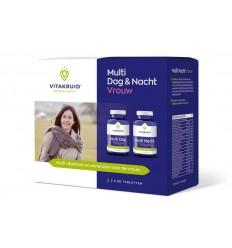 Vitakruid Multi dag & nacht vrouw 2 x 90 tabletten 180 tabletten | € 62.29 | Superfoodstore.nl