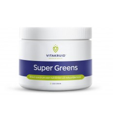 Vitakruid Super greens 220 gram | € 39.19 | Superfoodstore.nl
