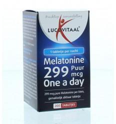 Lucovitaal Melatonine puur 0.299 mg 200 tabletten | € 7.01 | Superfoodstore.nl