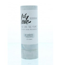 We Love The planet deodorant so sensitive stick 65 gram | € 11.14 | Superfoodstore.nl