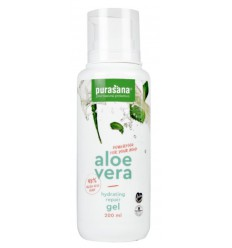 Purasana Aloe vera gel 98% 200 ml | € 12.04 | Superfoodstore.nl