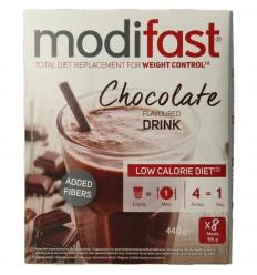 Modifast Milkshake chocolade 8 stuks 440 gram | € 17.82 | Superfoodstore.nl