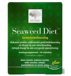 New Nordic Seaweed diet 90 tabletten | € 37.78 | Superfoodstore.nl