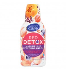 Weightcare Detox siroop red vetverbrandend 500 ml | € 9.49 | Superfoodstore.nl
