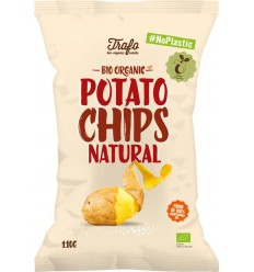 Trafo Chips gezout no plastic 110 gram | € 1.56 | Superfoodstore.nl
