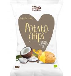 Trafo Chips kokosolie gebakken 40 gram | € 0.88 | Superfoodstore.nl