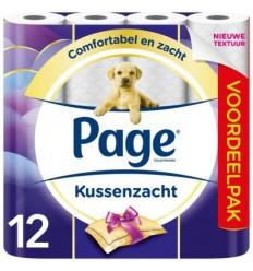 Page Toiletpapier kussenzacht 12 rollen | € 6.11 | Superfoodstore.nl