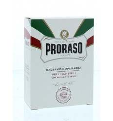 Proraso Aftershave balsem groene thee 100 ml | € 12.03 | Superfoodstore.nl