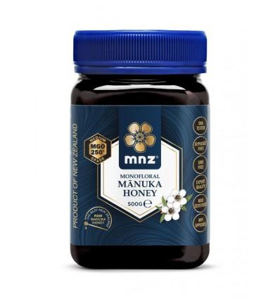 Manuka New Zealand Manuka honing MGO 250+ 500 gram   € 69.62   Superfoodstore.nl
