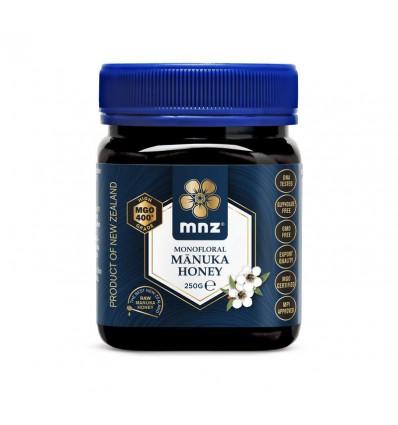 Manuka New Zealand Manuka honing MGO 400+ 250 gram | € 41.80 | Superfoodstore.nl