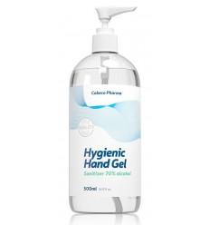 Cobeco Hygienische handgel 70% alcohol 500 ml | € 9.05 | Superfoodstore.nl