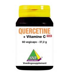 SNP Quercetine + gebufferde vitamine C puur 60 vcaps | € 31.83 | Superfoodstore.nl