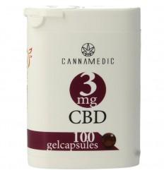 Cannamedic CBD Capsules nr 8 3 mg 100 capsules | € 17.96 | Superfoodstore.nl