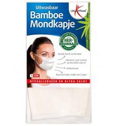 Lucovitaal Mondkapje bamboe | € 9.49 | Superfoodstore.nl