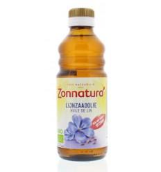 Zonnatura Lijnzaadolie bio 250 ml | € 3.35 | Superfoodstore.nl