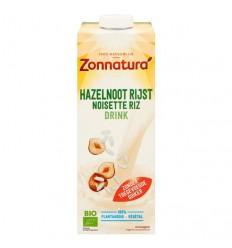 Zonnatura Rijst hazelnoot drink 1 liter | € 3.37 | Superfoodstore.nl
