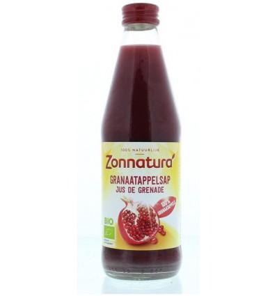 Zonnatura Granaatappelsap puur bio 330 ml   € 4.19   Superfoodstore.nl