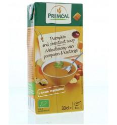 Primeal Veloute soep pompoen kastanje 330 ml | € 1.33 | Superfoodstore.nl