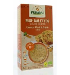 Primeal Quinoa burger quinoa lupine 250 gram   € 3.02   Superfoodstore.nl