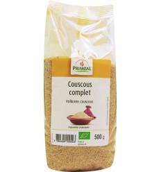 Primeal Couscous volkoren 500 gram   € 2.00   Superfoodstore.nl