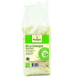 Primeal Witte langgraan rijst camargue 1 kg   € 5.14   Superfoodstore.nl