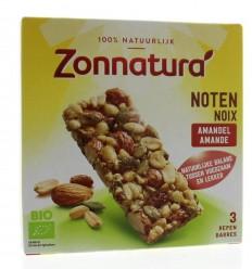 Zonnatura Muesli notenmix reep amandel 3 stuks | € 2.33 | Superfoodstore.nl